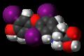 Triiodothyronine 3D spacefill.png