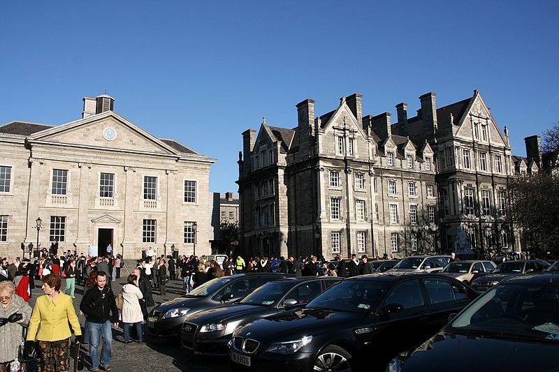 Trinity College, Dublin - graduation day.jpg