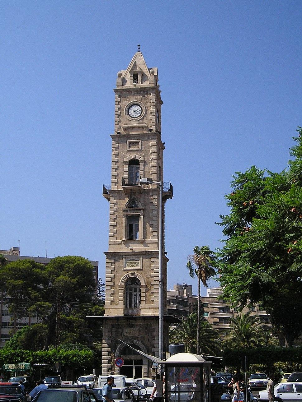 TripoliLebClockTower