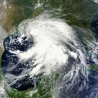 Tropical Storm Lee (2011) - Image: Tropical Storm Lee on 2nd Sept 2011