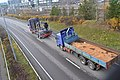 Truck towing another truck in Finland.jpg