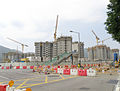 Tuen Mun area 54 public housing estate under construction in September 2015.jpg