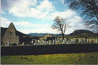 Tullich village in United Kingdom