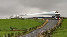 UK's Largest Turbine Blades Delivered