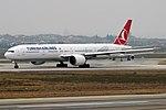 Turkish Airlines, TC-LJF, Boeing 777-3F2 ER (39244900434).jpg