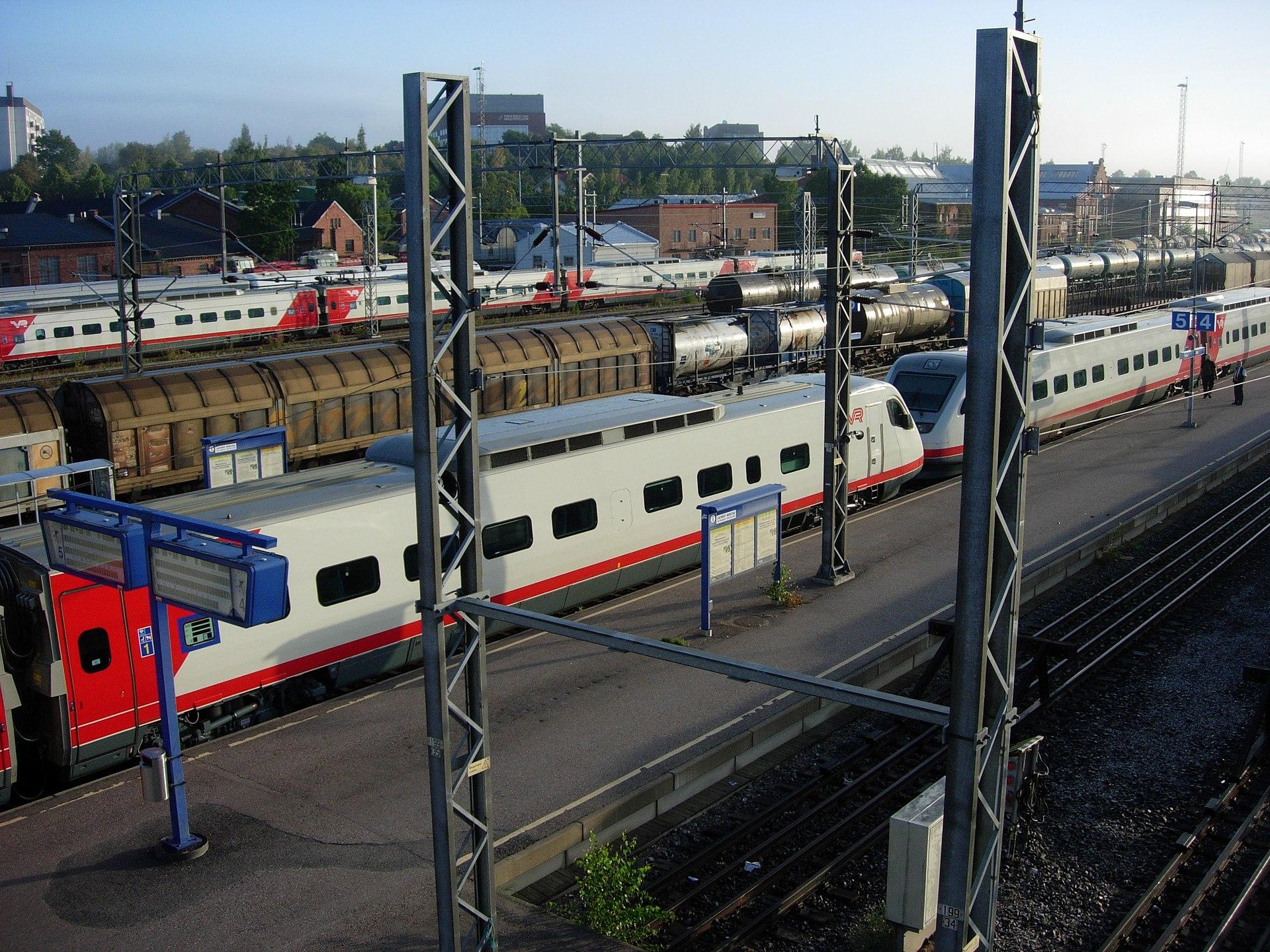 Turku Tampere Juna