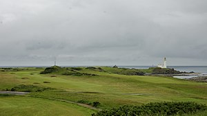 Turnberry (golf course) - The 10th and 12th holes on the Open Championship venue Ailsa course