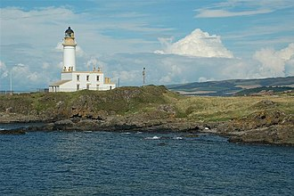 Turnberry Castle - Turnberry Lighthouse