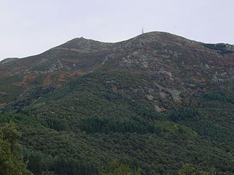 Montseny Massif - North face of the Turó de l'Home, the highest summit of the range