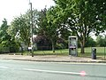 Tutshill telephone box and recreation ground - geograph.org.uk - 555070.jpg