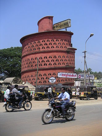 Laurie Baker - The Indian Coffee House in Thiruvananthapuram, which was designed by Laurie Baker