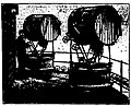Two Mangin type projectors on the 4th platform of the Eiffel Tower.jpg