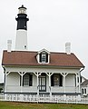 Tybee Island Light - keeper's house.jpg