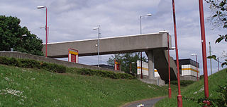 Tyne Dock Metro station Station of the Tyne and Wear Metro