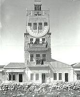 Tzadok Basan. Zoharei Hama synagogue and Tiferet Zion Synagogue on Jaffa Road, Jerusalem. 1920-1929.I.jpg