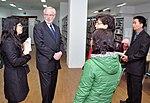 U.S. Ambassador David Shear visits the National Library (6639656815).jpg