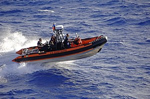 Cutter Boat – Over the Horizon - An over the horizon boat from USCGC Reliance 615