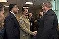 U.S. Deputy Defense Secretary Bob Work greets Pakistani Army Chief of Staff Gen. Raheel Sharif as he arrives at the Pentagon 141118-D-DT527-019c.jpg