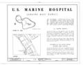 U. S. Marine Hospital, 1038 Front Street, Lahaina, Maui County, HI HABS HI,5-LAHA,10- (sheet 1 of 5).png