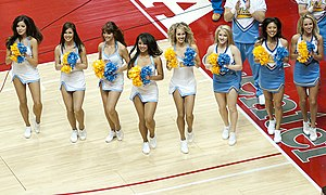 English: UCLA Dance Team