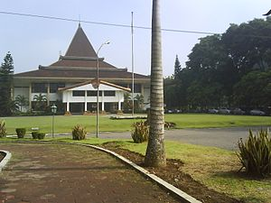 Sebelas Maret University - Rectorate building