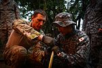 US, Japanese Airmen conduct survival training during Cope North 16 160216-F-CH060-153.jpg