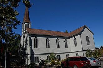 California Historical Landmarks in Solano County, California - Image: USA Benicia Saint Paul's Episcopal Church 4