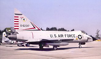 4756th Air Defense Wing - TF-102A Delta Dagger 56-2317 at Tyndall AFB in 1968