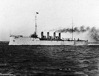 Bath Iron Works - Image: USS Chester CL1