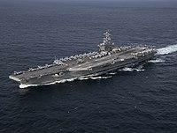 USS Abraham Lincoln (CVN-72) underway in the Atlantic Ocean on 30 January 2019 (190130-N-PW716-1312).JPG