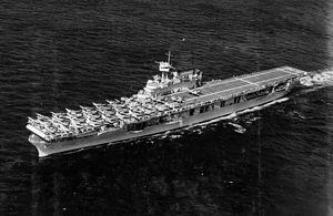 Yorktown-class aircraft carrier - USS Enterprise