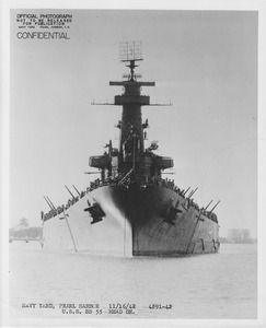 USS North Carolina front view NARA 19LCM-BB55-4891-42.tif