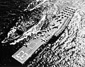 USS Passumpsic (AO-107) refuels USS Kearsarge (CVA-33) and USS Maddox (DD-731) c1957.jpg