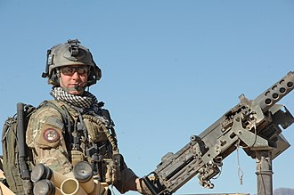 United States Air Force Combat Control Team - Image: US Air Force Combat Controller S Sgt Zachary Rhyner
