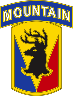 86th Infantry Brigade Combat Team - Image: US Army 86th Inf Bde CSIB