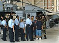 US Navy 030501-N-7058E-035 Naval Sea Cadets get a chance to examine an MH-60S Knight Hawk helicopter.jpg