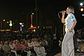 US Navy 070209-N-1113S-012 Musician 3rd Class Jessica Hatfield sings in front of a large audience during a joint U.S. 7th Fleet Band and Philippine Navy Band concert, held at Rajah Sulayman Park.jpg
