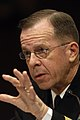 US Navy 070329-N-0696M-060 Chief of Naval Operations, Adm. Mike Mullen testifies before the Senate Armed Services Committee on the 2008 National Defense Budget Request.jpg