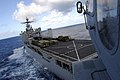 US Navy 071111-N-6597H-178 An MH-60S Seahawk prepares to land aboard dock landing ship USS Germantown (LSD 42) while underway in the Pacific Ocean.jpg