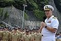 US Navy 090704-N-8273J-071 Chief of Naval Operations (CNO) Adm. Gary Roughead speaks with sailors during an all-hands call in Yokuska, Japan.jpg