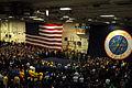 US Navy 091126-N-1786N-024 Gen. David H. Petraeus, commander, U.S. Central Command, speaks with Sailors during an all-hands call aboard the aircraft carrier USS Nimitz (CVN 68).jpg