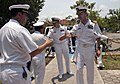 US Navy 100615-N-5319A-030 Capt. Peter Brennan and Cmdr. Jeffrey Oakey meet with Mexican navy officers at the Manzanillo Naval Base in Manzanillo, Mexico.jpg
