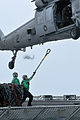 US Navy 100807-N-5749W-163 A Sailor aboard the Military Sealift Command fast combat support ship USNS Rainier (T-AOE 7).jpg