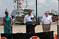 US Navy 100814-N-6936D-061 President Barack Obama speaks to the press about Gulf Coast oil spill clean-up efforts.jpg