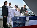 US Navy 171104-N-NO101-001 Ima J. Black christens DDG 119.jpg