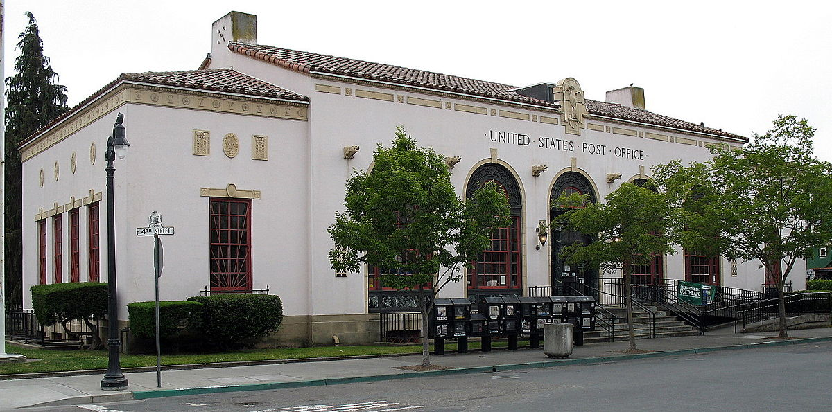 united states post office  petaluma  california