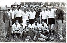 L'Udinese in maglia bianca nel 1937