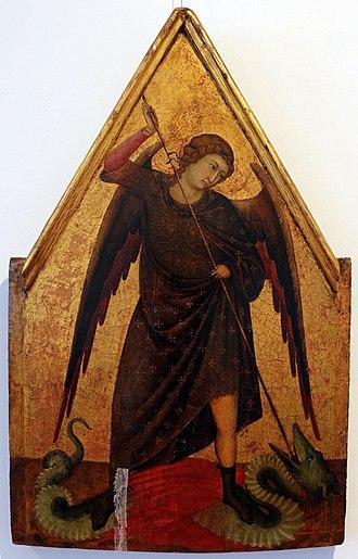 Ugolino di Nerio - Archangel Michael