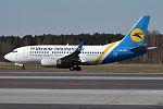Ukraine International Airlines, UR-GBC, Boeing 737-5L9 (25977217444).jpg