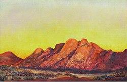 Pontok berge - namibia , 2007, 100 x 150 cm